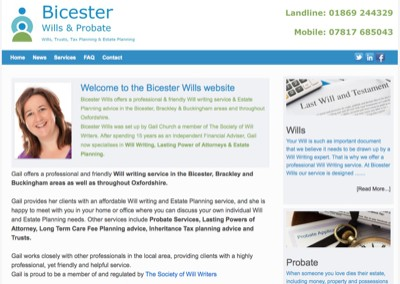 bicesterwills.co.uk