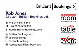 Business Card Front Rob