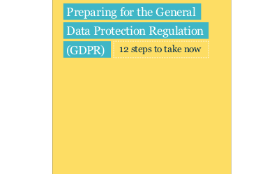 What do the new GDRP Regulations mean for your data?